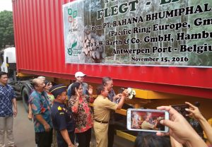 Indonesian FLEGT licensed timber arriving in Europe for the first time